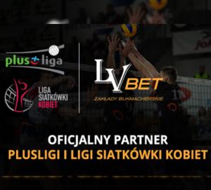 LV BET Oficjalnym Partnerem PlusLigi i Ligi Siatkówki Kobiet!