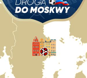 DROGA DO MOSKWY – PRZYSTANEK 5. Zbieraj punkty w weekend i zgarnij 1000 zł!