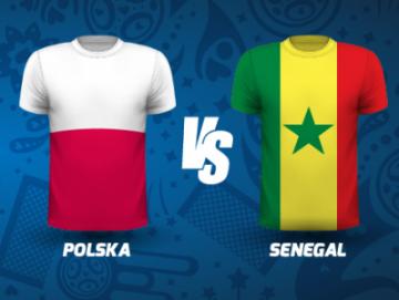 Najlepsze promocje i kursy na mecz Polska - Senegal od legalnych bukmacherów