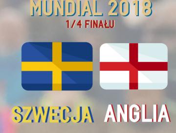 MŚ 2018. Szwecja - Anglia [INFOGRAFIKA]