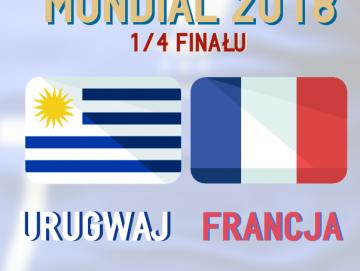 MŚ 2018. Urugwaj- Francja [INFOGRAFIKA]
