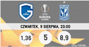 eliminacje LE Lech Poznań - Genk