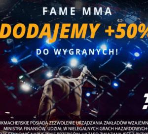 Już w sobotę Fame MMA 2! Graj w LvBet i zgarnij bonus do wygranej!