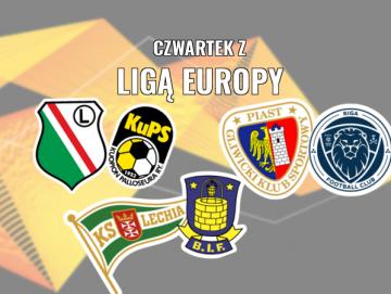 Czwartek z Ligą Europy. Legia, Piast i Lechia zagrają w eliminacjach