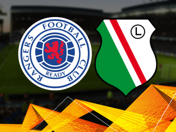 Rangers - Legia. Wojskowi walczą o Ligę Europy! Wejdź i zgarnij BONUSY