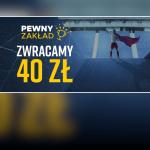 Jeden mecz nie wejdzie? Betclic zwraca stawkę do 40 PLN!